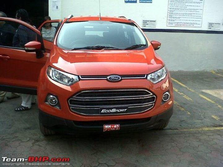 Ford EcoSport At Mumbai Dealership