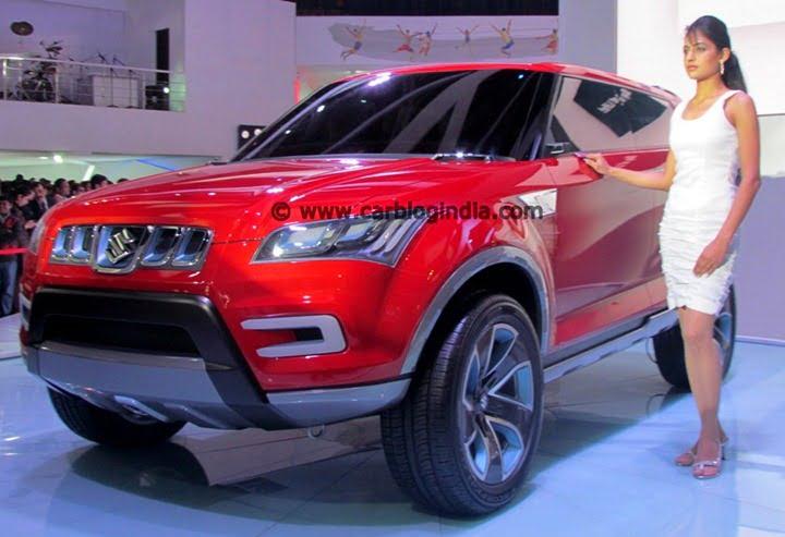 Maruti XA-Aplha Compact SUV India