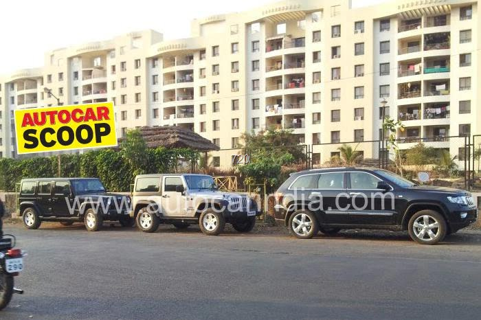 Jeep Cars Spy Pictures India