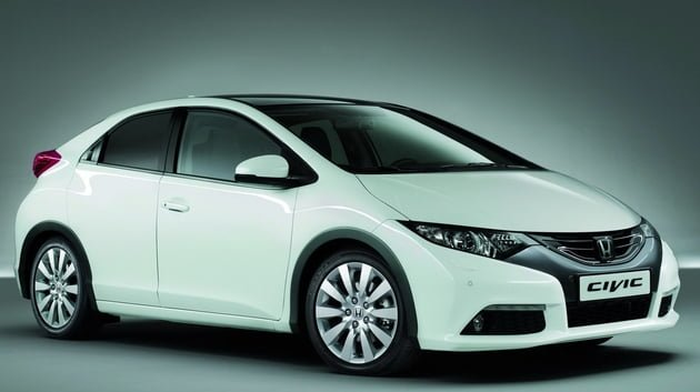Honda to bring diesel engines in civic hatchback and cr v for Honda civic hatchback 2013