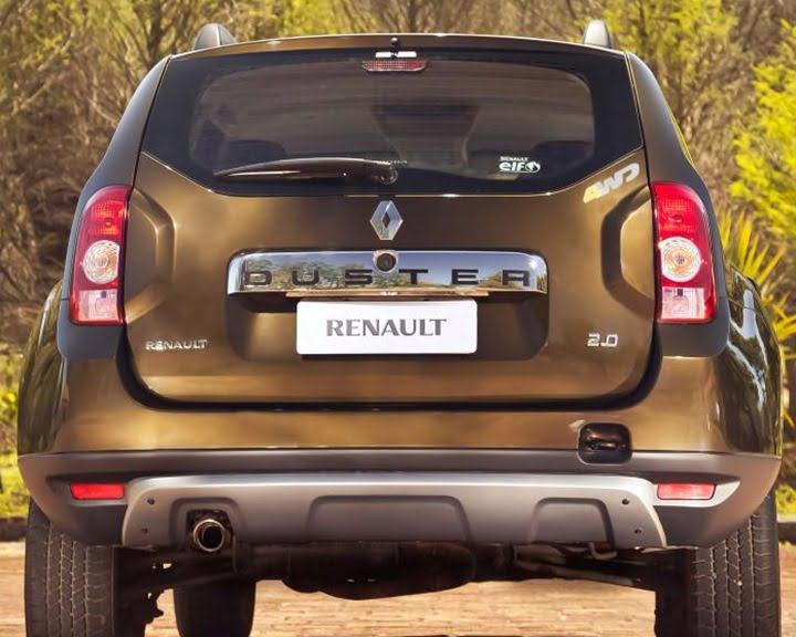 Renault Duster Rear Profike