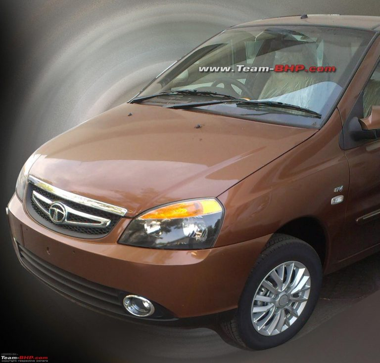 Update: 2013 Tata Indigo eCS New Model Spied Testing Without Any Covers