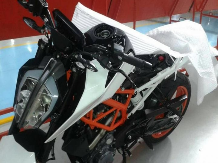 new 2017 ktm duke 390 india launch - 2017 model KTM duke 390 spy shots