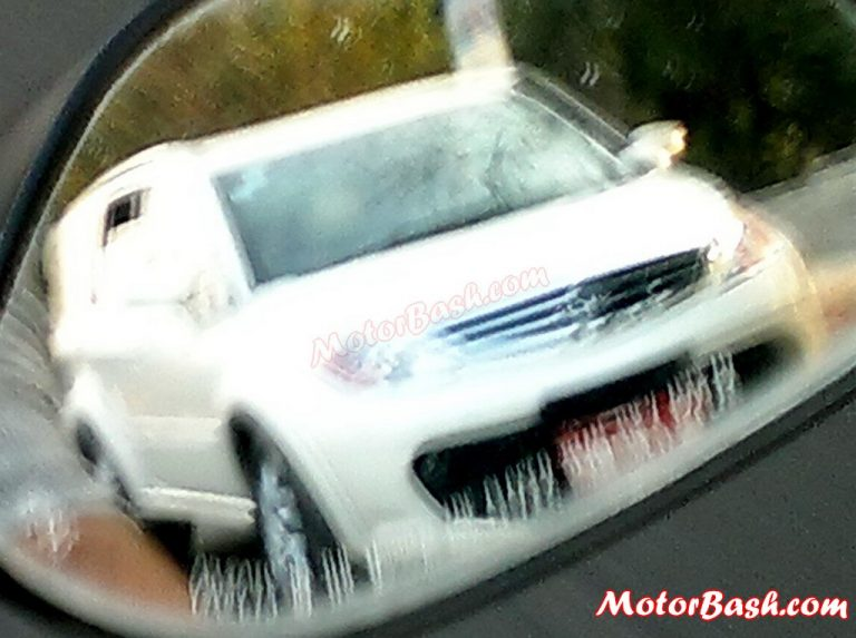 2013 Tata Aria Facelift New Model Spied Testing In India– Revealed In Geneva