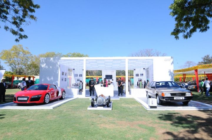 Audi Lounge at 15th Classic and VIntage Car Rally, Jaipur