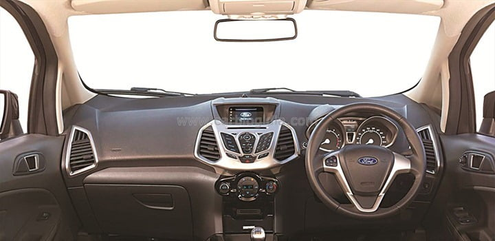 Ford EcoSport India Interiors Official Pictures (1)