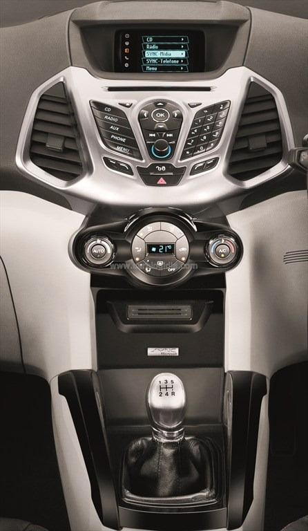 Ford EcoSport India Interiors Official Pictures (3)