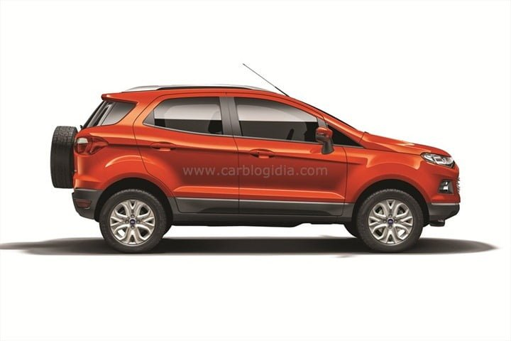 Ford EcoSport India Official Pictures (3)