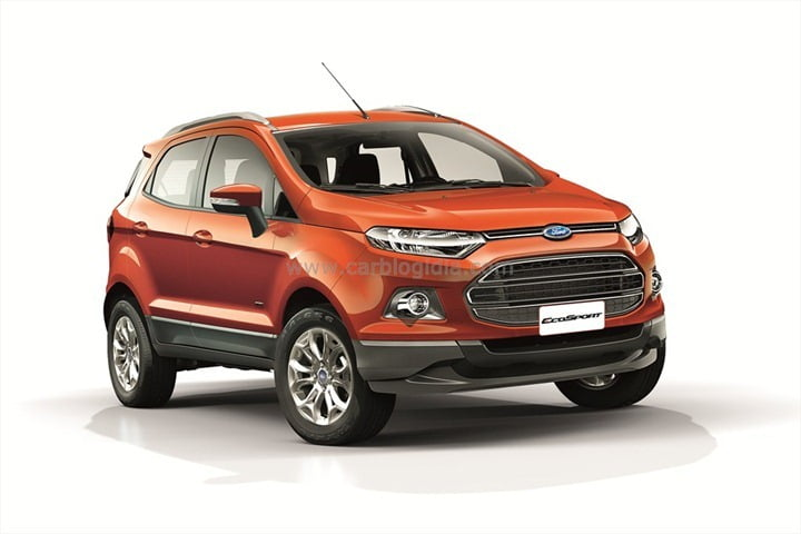 Ford EcoSport India Official Pictures (4)