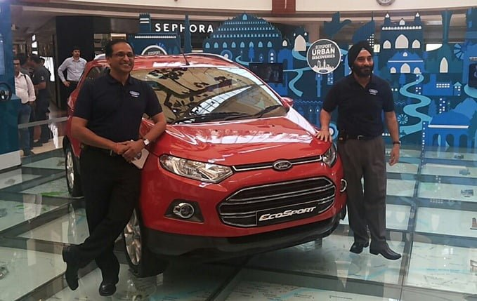 Ford EcoSport Official Revealing India