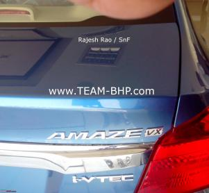 Honda-Amaze-VX-at-Indian-dealership