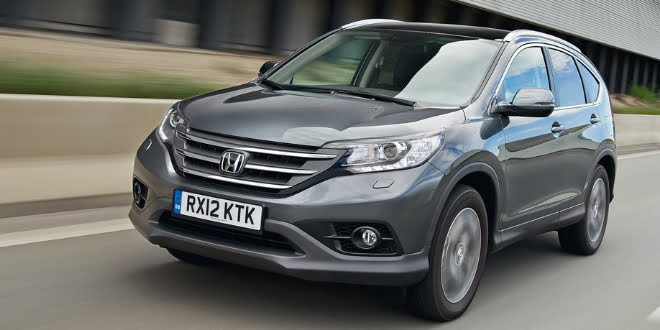SPIED: The 2016 Honda CR-V Interior Mildly Updated
