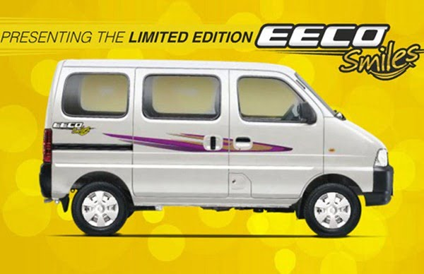 Maruti EECO Smiles Limited Edition