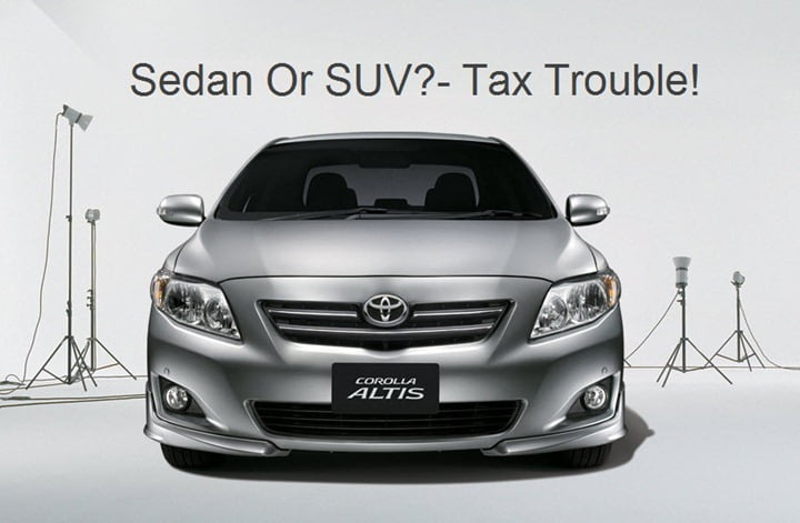 Sedan Or SUV