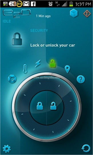 Smart Phone App Lock-unlock