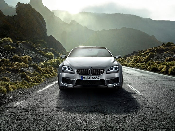 The BMW M6 Gran Coupe