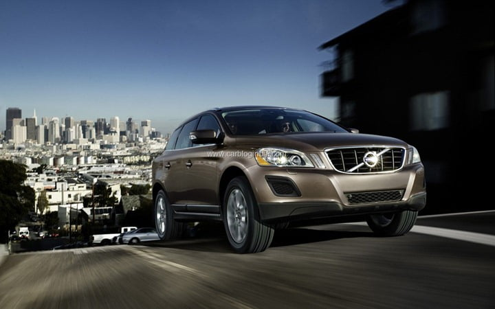 Volvo XC60 Bags Top Safety Award
