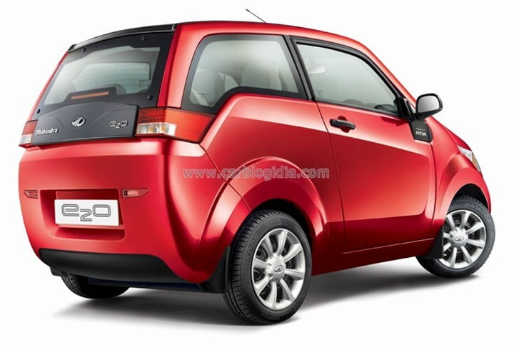 Mahindra Reva E2o With Electric Steering Coming Soon