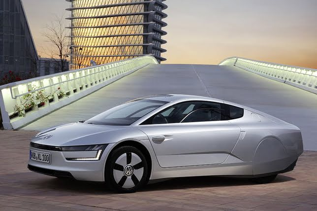 2014 Volkswagen XL1 Production Version Launched At Geneva