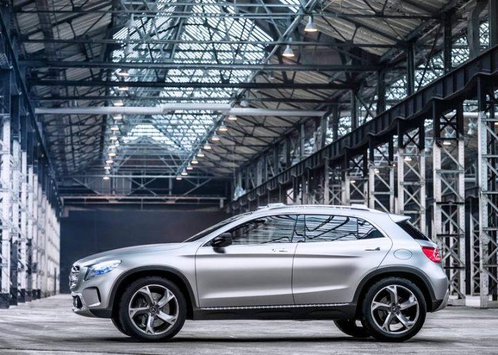 2013 Mercedes GLA Compact SUV Concept (2)
