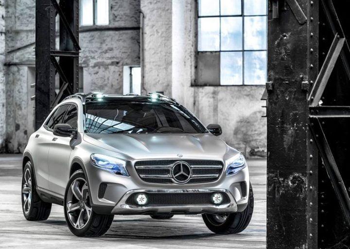 2013 Mercedes GLA Compact SUV Concept (8)
