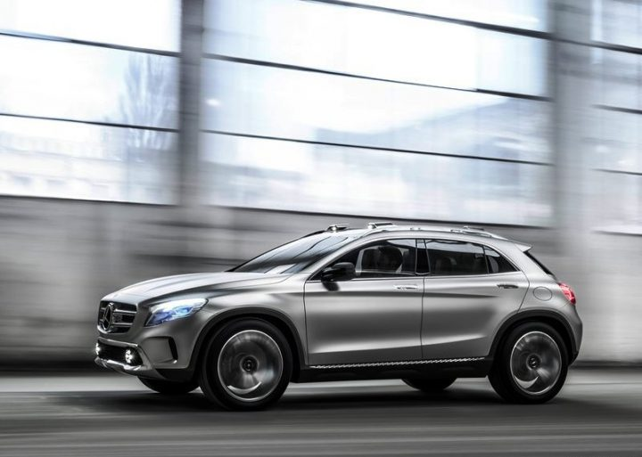 Mercedes Gla Concept Revealed Official Pictures And Video