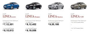 2013 Fiat Linea T-Jet New Model Coming To India