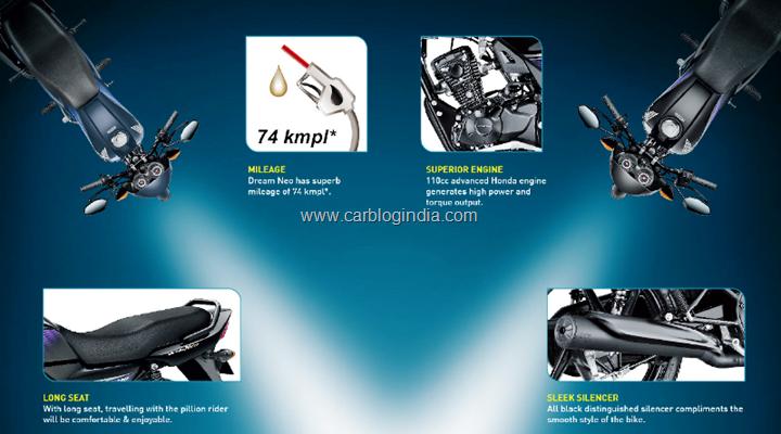 Honda Dream Neo Features