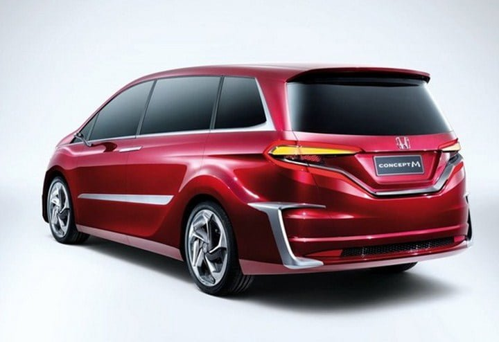 Honda Reveals Concept M MPV In 2013 Shanghai Motor Show