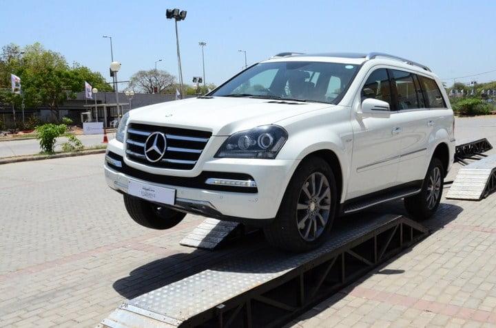 Mercedes benz 2013 star drive experience reaches ahmedabad for Mercedes benz driving experience