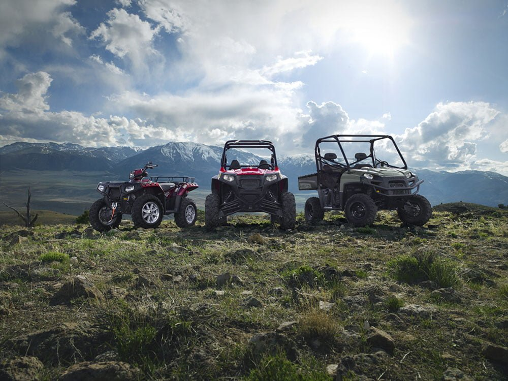 Off Road Electric Bike >> Polaris ATVs Launches Off-Roading Tracks To Experience Its ...