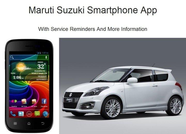 Maruti Suzuki Smartphone App