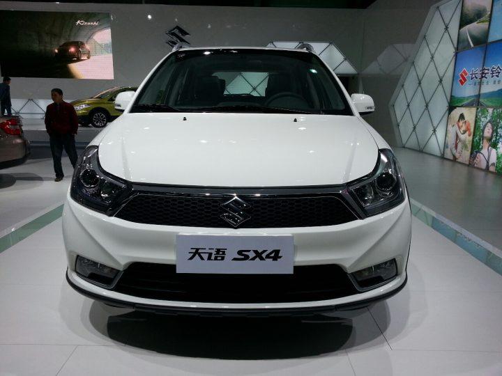 Suzuki SX4 Crossover Facelift