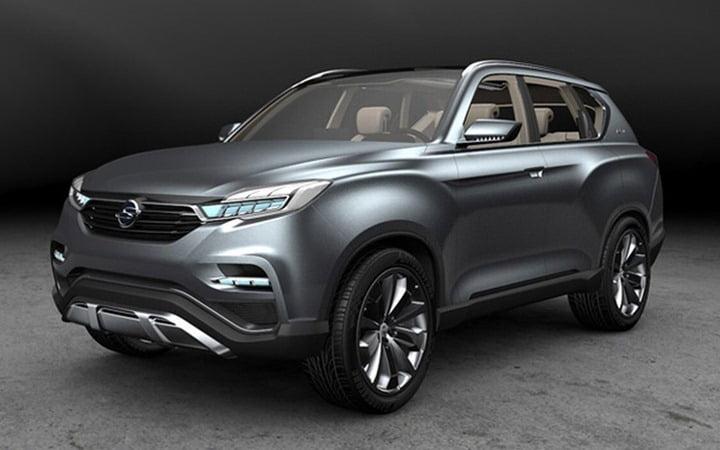 SsangYong LIV 1Compact SUV Concept