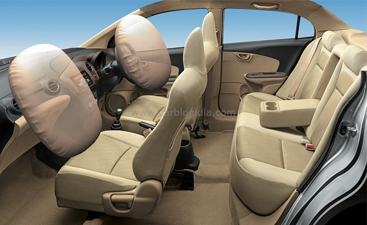Honda Amaze Interiors