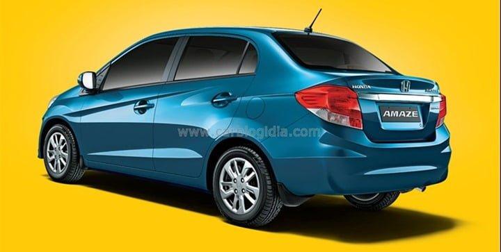 Honda Amaze Diesel Side Rear