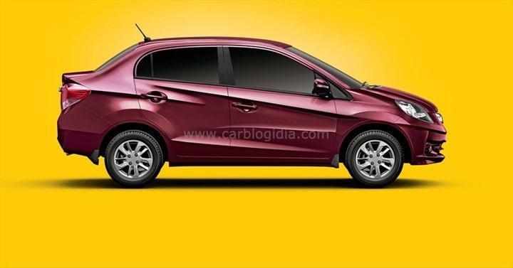 Honda Amaze side view