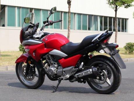 Suzuki GW250S Semi-Faired Motorcycle
