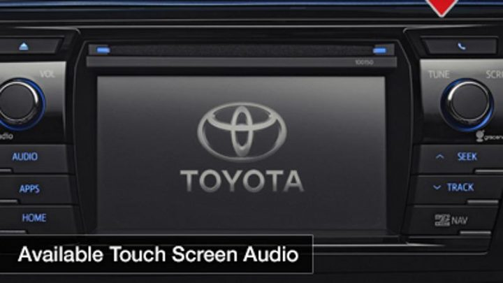 2014 Toyota Corolla Teaser Infotainment System