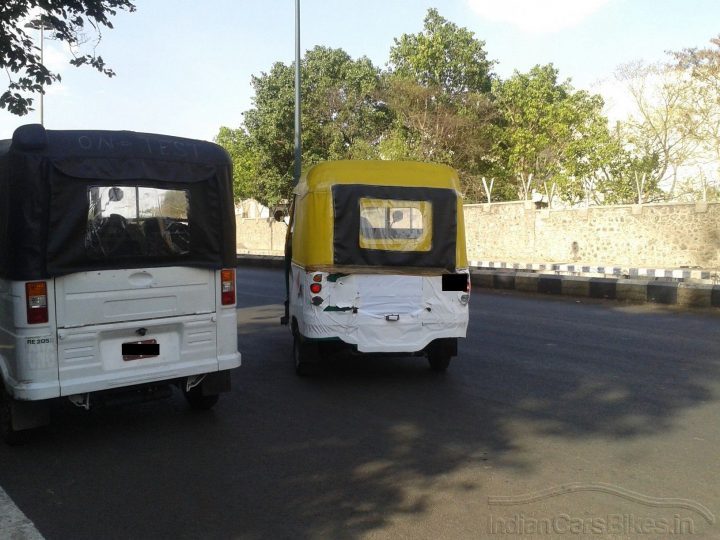 New Bajaj Autorickshaws Rear