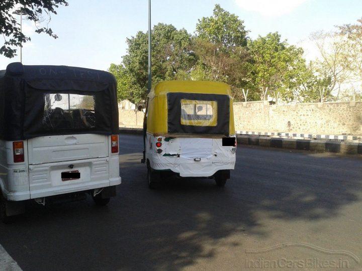 New Bajaj Autorickshaws Rear