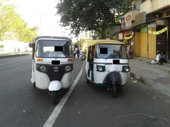 New Bajaj Autorickshaws