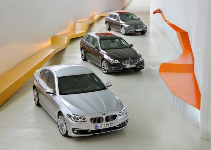 New 2014 BMW 5 Series Family