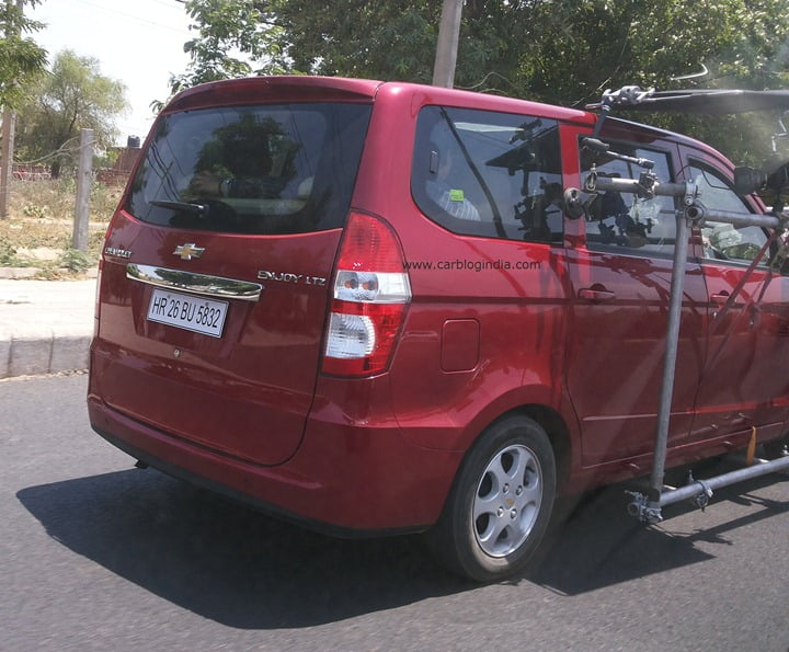 Chevrolet Enjoy Scoop Pictures Car Blog India Exclusive (1)