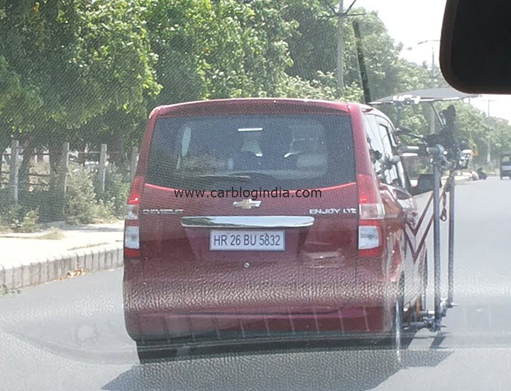 Chevrolet Enjoy Scoop Pictures Car Blog India Exclusive (3)