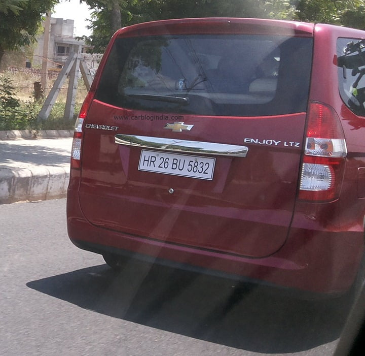 Chevrolet Enjoy Scoop Pictures Car Blog India Exclusive (5)