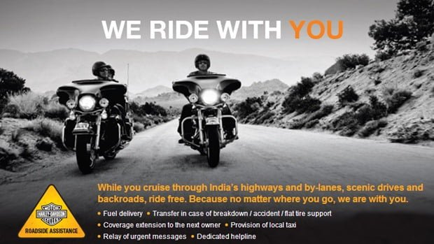Harley Davidson Roadside Assistance Program Launched In India