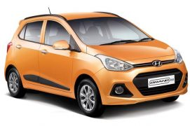 Hyundai Grand i10 Front Quarter Right