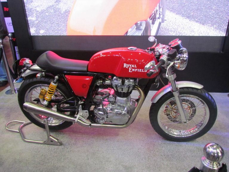 Royal Enfield 525 CC Continental GT Launch By 2013 End- Official