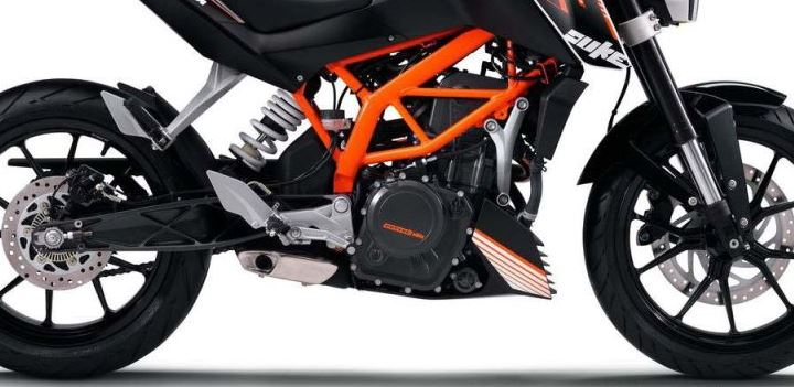 2013 KTM 390 Duke Enigne